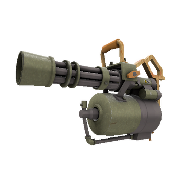 Antique Annihilator Minigun TF2 Skin Preview
