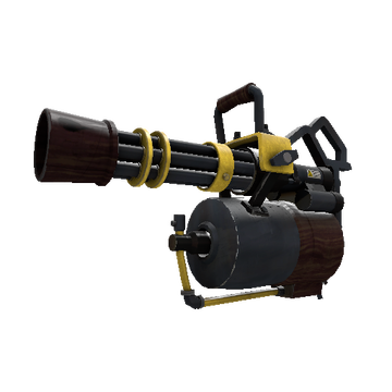 Iron Wood Minigun TF2 Skin Preview