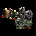 Unusual Festive Professional Killstreak King of the Jungle Minigun (Well-Worn)