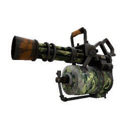 Strange Professional Killstreak King of the Jungle Minigun (Battle Scarred)
