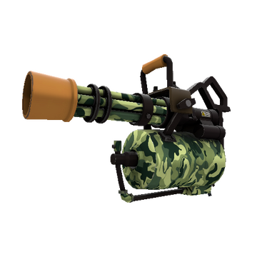 King of the Jungle Minigun TF2 Skin Preview