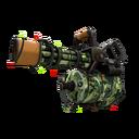 Strange Unusual Festive King of the Jungle Minigun (Field-Tested)