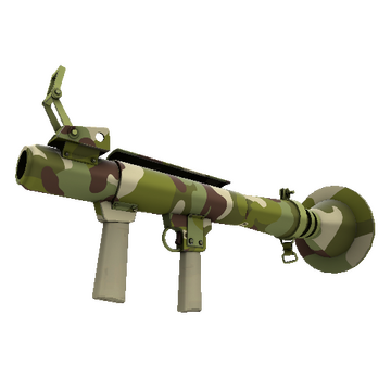 Woodland Warrior Rocket Launcher TF2 Skin Preview