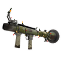 Festive Killstreak Woodland Warrior Rocket Launcher (Well-Worn)