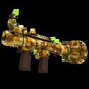 Strange Festive Killstreak Sand Cannon Rocket Launcher (Factory New)