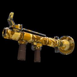 Strange Professional Killstreak Sand Cannon Rocket Launcher (Minimal Wear)