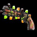 Festive Killstreak Psychedelic Slugger Revolver (Well-Worn)