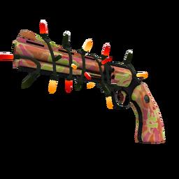 Festive Specialized Killstreak Psychedelic Slugger Revolver (Factory New)