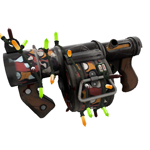 Unusual Professional Killstreak Stickybomb Launcher