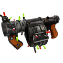 Festive Sudden Flurry Stickybomb Launcher (Well-Worn)