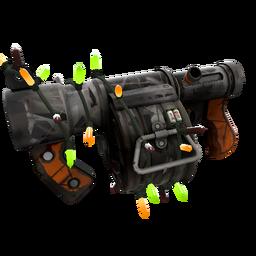 Strange Festive Sudden Flurry Stickybomb Launcher (Battle Scarred)