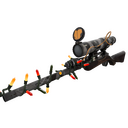 Unusual Festive Specialized Killstreak Night Owl Sniper Rifle (Well-Worn)