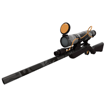 Night Owl Sniper Rifle TF2 Skin Preview