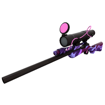 Purple Range Sniper Rifle TF2 Skin Preview