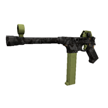 Woodsy Widowmaker SMG TF2 Skin Preview
