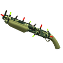 Unusual Festive Professional Killstreak Backwoods Boomstick Shotgun (Factory New)