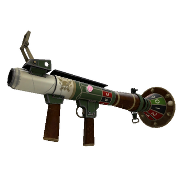 High Roller's Rocket Launcher TF2 Skin Preview