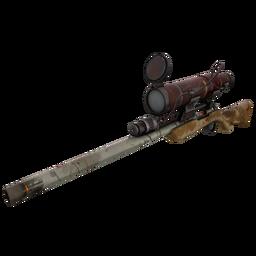 Strange Coffin Nail Sniper Rifle (Battle Scarred)