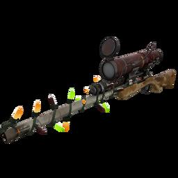 Festive Coffin Nail Sniper Rifle (Battle Scarred)