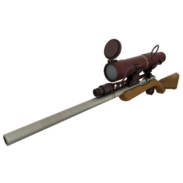 Coffin Nail Sniper Rifle TF2 Skin Preview