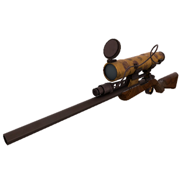 Dressed to Kill Sniper Rifle TF2 Skin Preview