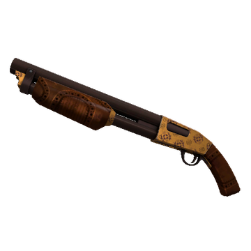 TF2 Skin - Dressed to Kill Shotgun Skin Preview