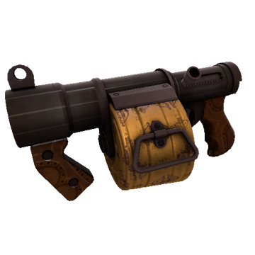 Dressed to Kill Stickybomb Launcher TF2 Skin Preview