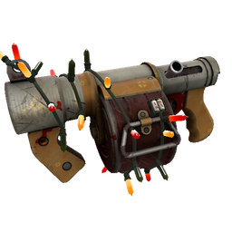 Festive Coffin Nail Stickybomb Launcher (Battle Scarred)