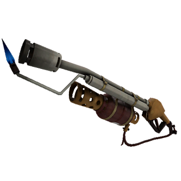 Coffin Nail Flame Thrower TF2 Skin Preview