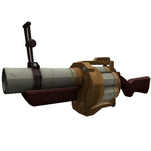 Gore-Spattered Specialized Killstreak Grenade Launcher