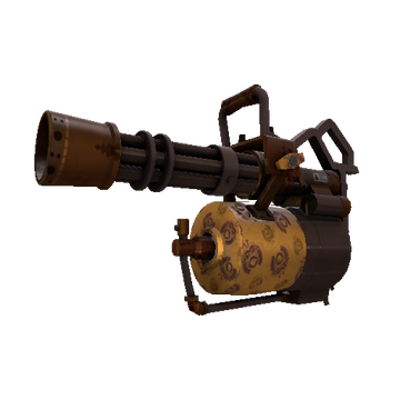TF2 Skin - Dressed to Kill Minigun Skin Preview