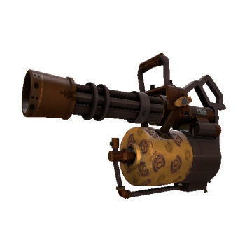 Dressed to Kill Minigun TF2 Skin Preview