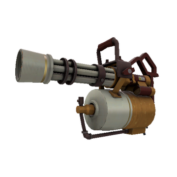 Coffin Nail Minigun TF2 Skin Preview
