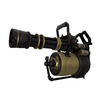 Top Shelf Minigun TF2 Skin Preview