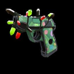 Festive Professional Killstreak Brain Candy Pistol (Minimal Wear)