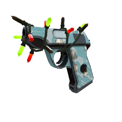 """The Blue Neue Pistol"""
