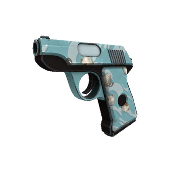 Blue Mew Pistol TF2 Skin Preview
