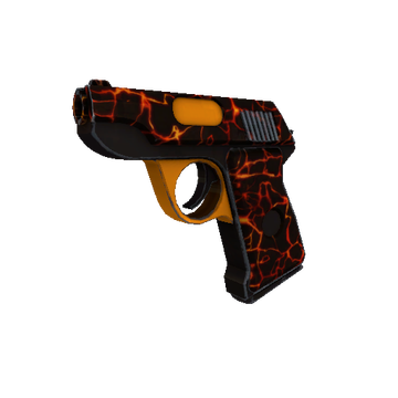 Shot to Hell Pistol TF2 Skin Preview