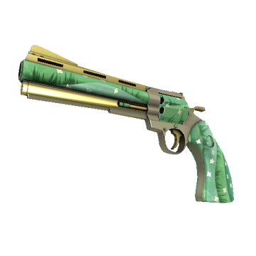 Flower Power Revolver TF2 Skin Preview