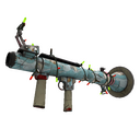 Festive Specialized Killstreak Blue Mew Rocket Launcher (Well-Worn)