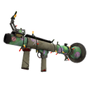 Festive Brain Candy Rocket Launcher (Battle Scarred)