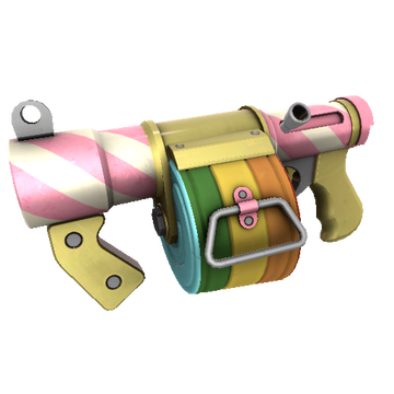 Sweet Dreams Stickybomb Launcher TF2 Skin Preview