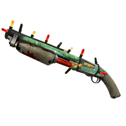 Festive Flower Power Shotgun (Battle Scarred)