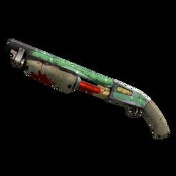 Strange Specialized Killstreak Flower Power Shotgun (Battle Scarred)