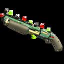 Strange Unusual Festive Professional Killstreak Flower Power Shotgun (Minimal Wear)