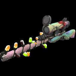 Festive Rainbow Sniper Rifle (Field-Tested)