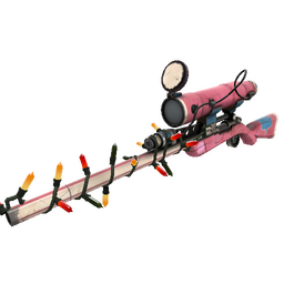 Strange Festive Killstreak Balloonicorn Sniper Rifle (Field-Tested)