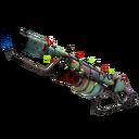 Strange Festive Specialized Killstreak Rainbow Flame Thrower (Well-Worn)