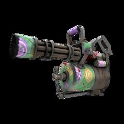 Strange Brain Candy Minigun (Battle Scarred)