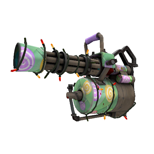 Truly Feared Killstreak Minigun